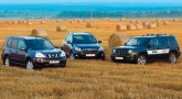 Сравнительное джиповодство. Jeep Liberty, Nissan X-Trail и Toyota Rav4